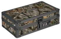 "Vaultz Locking Supplies & Pencil Box with Combination Lock, 5""x 2.5""x 8.5"", Next Camo (VZ00860)"