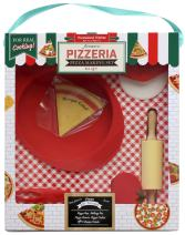 Handstand Kitchen Authentic Pizzeria 9-piece Real Pizza Making Set with Recipes for Kids