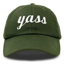 DALIX Yass Baseball Cap Dad Hats Womens Pink Blue Black Green