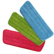 Homgaty 3 Pack Microfiber Dust Mop Washable Pads Cleaning Mop Refill Compitiable with Spray Mops and Reveal Mops Washable 42x14cm