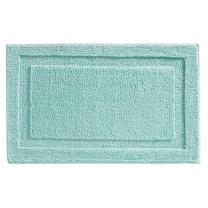 "InterDesign Microfiber Spa Bathroom Accent Rug, 34"" x 21"" Inches, Mint"