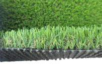 PZG Commerical Artificial Grass Patch w/ Drainage Holes & Rubber Backing   Heavy & Soft Turf   Lead-Free Fake Grass for Dogs or Outdoor Decor   Total Weight - 83 oz & Face Weight 55 oz   Size: 5' x 3'