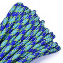 Bored Paracord - 1', 10', 25', 50', 100' Hanks & 250', 1000' Spools of Parachute 550 Cord Type III 7 Strand Paracord Well Over 300 Colors - Under Water - 50 Feet