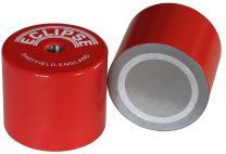 "Eclipse Magnetics 834 Alnico Deep Pot Magnet, Metric M6 Thread, 1.38"" Diameter"