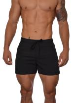 YoungLA Men's Bodybuilding Gym Running Shorts 101