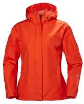 Helly Hansen Women's Seven J Waterproof, Windproof, and Breathable Rain Jacket with Hood