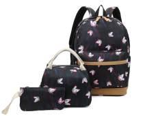 Ulgoo Girls School Bags Kids Bookbags Teens Bookbag Set Kids Laptop Backpack Lunch Box Purse