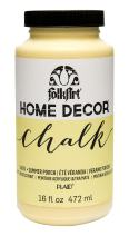FolkArt 34875 Home Decor Chalk Furniture & Craft Paint in Assorted Colors, 16 ounce, Summer Porch