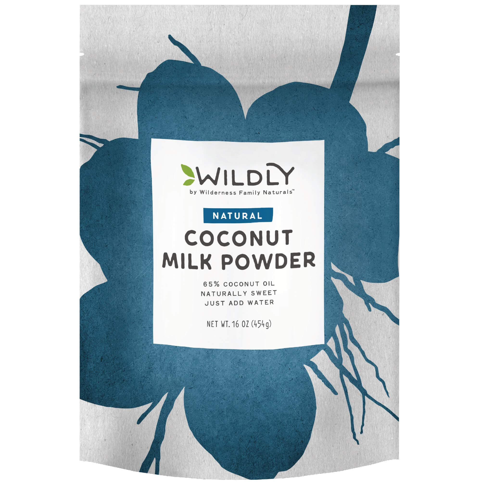 Wildly Coconut Milk Powder - Powdered Milk - Dairy Free Milk Powder - Dry Milk Powder For Baking - Unsweetened Coconut Milk - Powdered Coconut Milk Powder - Powdered Creamer - 1 Lbs