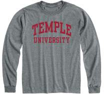 Ivysport Long Sleeve T-Shirt, Adult Grey, Classic Arch Logo
