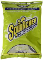 Sqwincher Powder Concentrate Electrolyte Replacement Beverage Mix, 5 gal, Lemon Lime 016408-LL (Pack of 16)