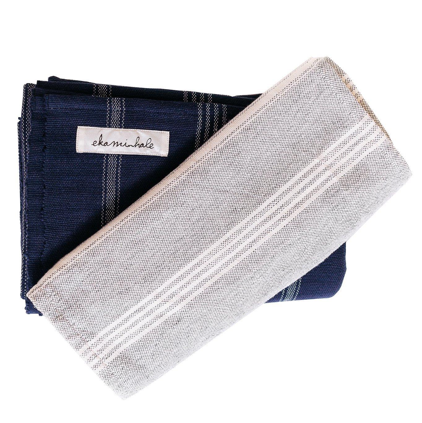 Ekaminhale Organic Cotton Yoga Blanket