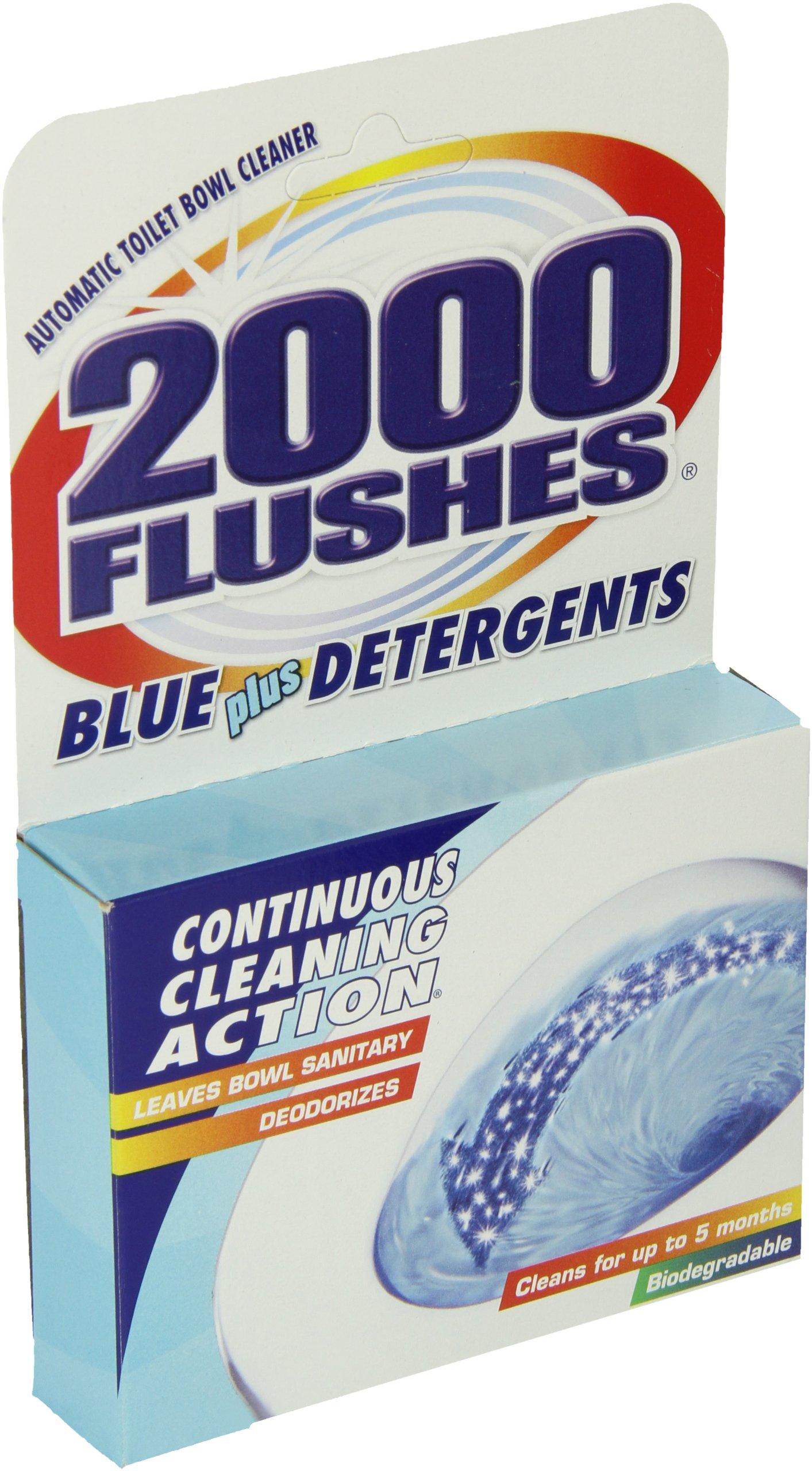 2000FlushesBluePlus Detergents Automatic Toilet Bowl Cleaner, 3.5 OZ