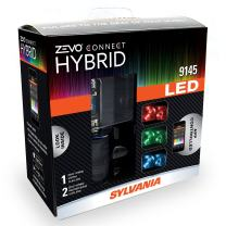 SYLVANIA 9145 ZEVO Connect Hybrid LED Color Changing System for Headlights