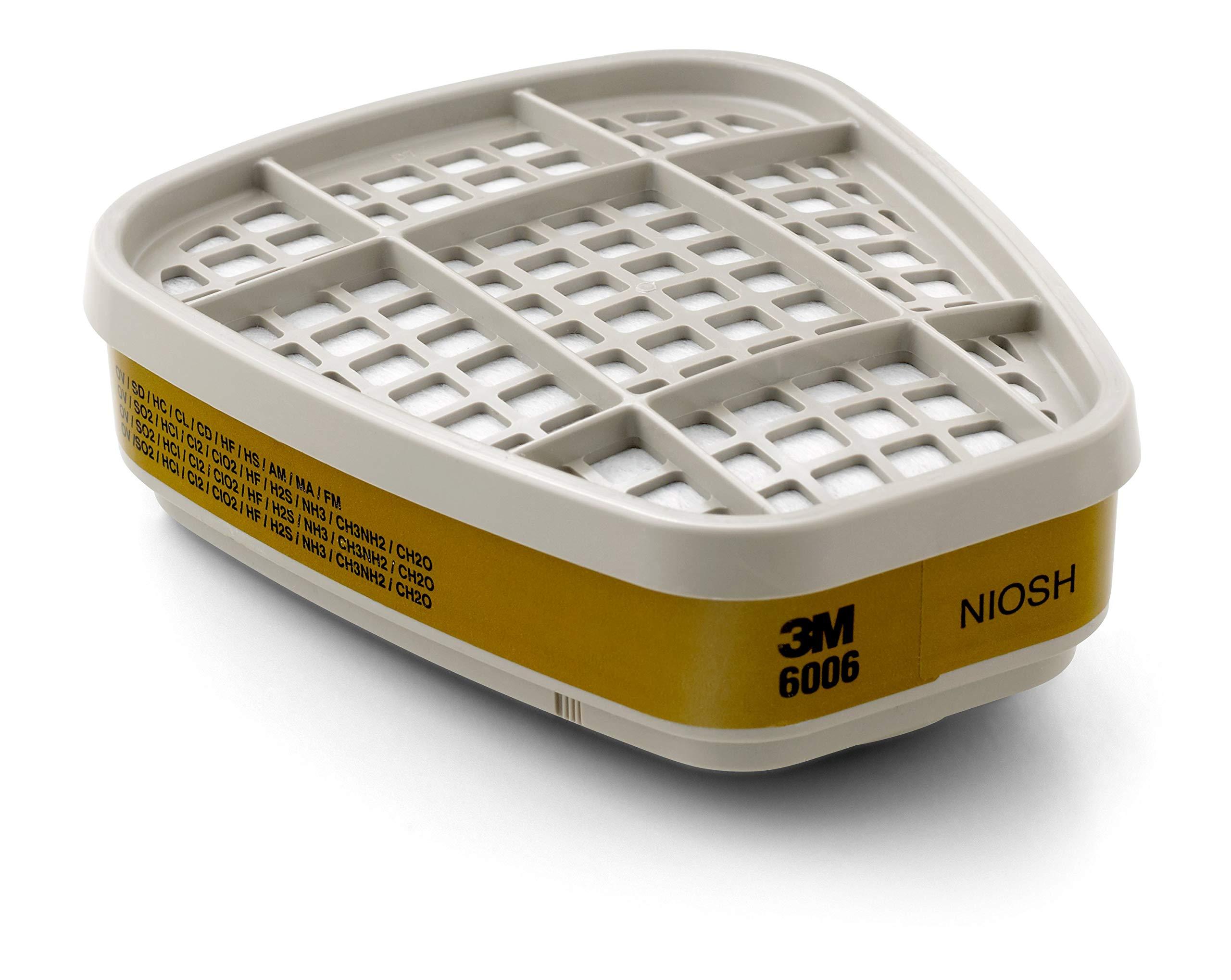 3M Multi Acid Gas/Organic Vapor Cartridge 6006