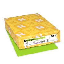 """Neenah Astrobrights Colored Cardstock, 8.5"""" x 11"""", 65 lb/176 GSM, Terra Green, 250 Sheets (22781)"""