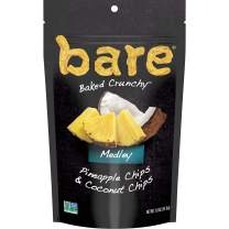 bare Baked Crunchy Medleys, Pineapple Coconut, 1.8oz Single Serve Bags (6 Pack)