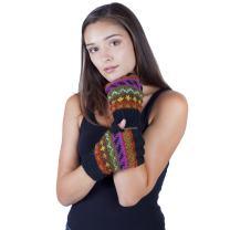 Lakhays Winter Hand Knit Woolen Fingerless Gloves/Handwarmer for Typing & Texting