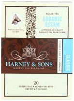 Harney and Sons Organic Assam Tea Bags, 20 Count