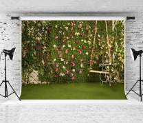Kate 10x6.5ft Green Backdrops for Photography Garden Cornor Background Satisfying Spring Royal Backdrops High Resolution