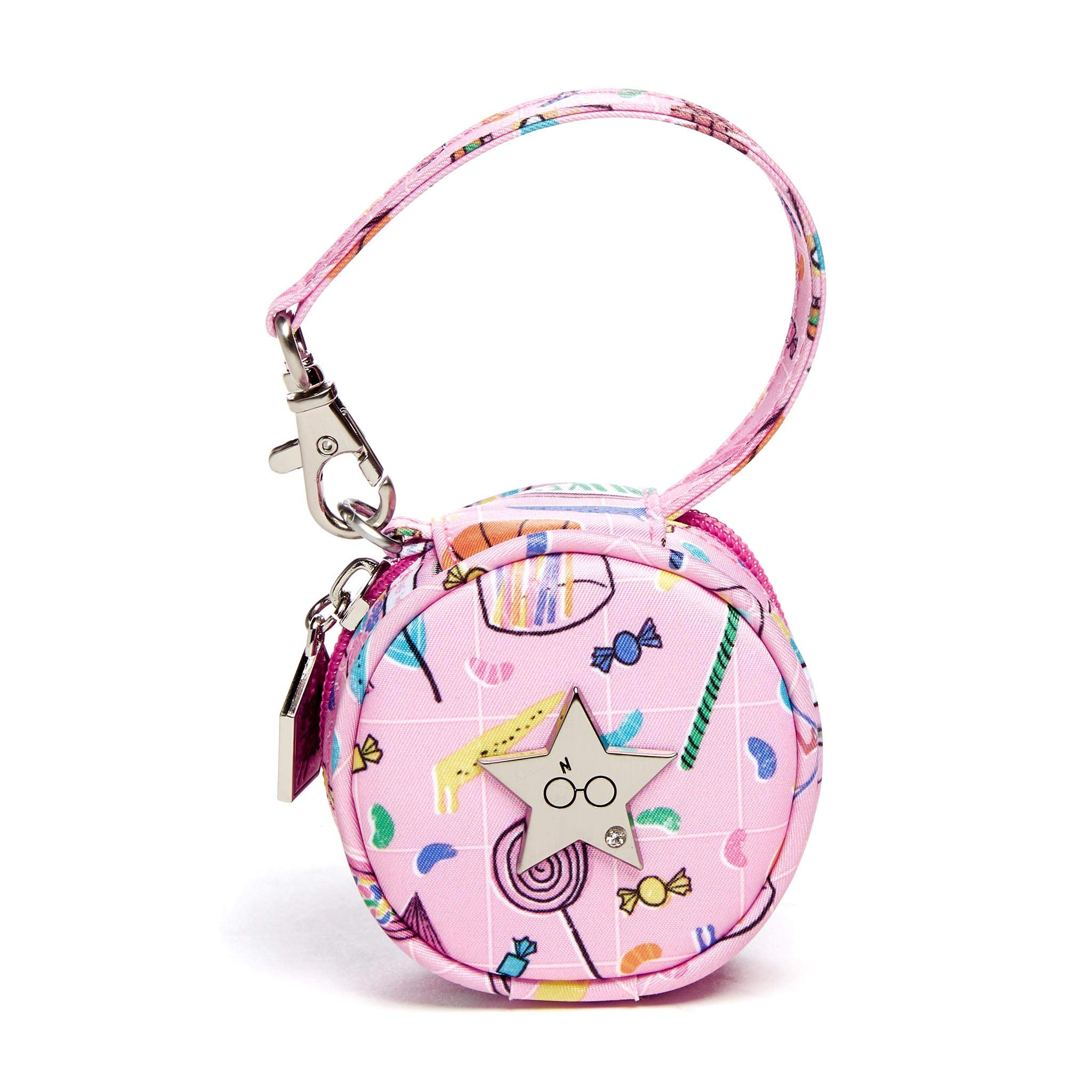 JuJuBe x Harry Potter Paci Pod Pacifier Wristlet with Clip + Strap to Attach to Stroller, Diaper Bag, or Purse   Stylish, Easily Attachable Pacifier Holder   Honeydukes