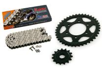 2011 2012 Kawasaki Ninja 1000 ZX1000 CZ DZX X Ring Chain and Sprocket 15/41 122L