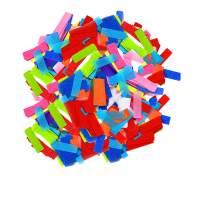 Flutter FETTI Tissue Paper Confetti Biodegradable (Eco- Friendly) Multicolor Premium 19,500 Pieces