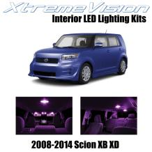 XtremeVision Interior LED for Scion XB XD 2008-2014 (12 Pieces) Pink Interior LED Kit + Installation Tool
