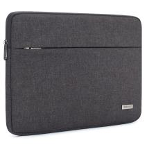 """NIDOO 14 Inch Laptop Sleeve Case Water-Resistant Portable Computer Carrying Hand Bag Pouch for 14"""" Lenovo Chromebook S330 / ThinkPad E490 T490 T490s T590 / HP ProBook 645 G4 / Acer Swift 5 7,Dark Grey"""