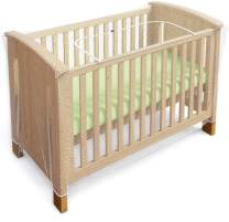 Luigi's Net for Crib - Baby Crib Net to Secure Your Baby - with Zipper Feature for Quick, Easy Access