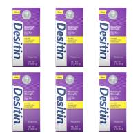 Desitin Maximum Strength Baby Diaper Rash Cream with 40% Zinc Oxide, Travel Size, 2 Ounce (Pack of 6)