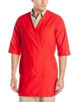 Red Kap Men's RK Collarless Butcher Wrap
