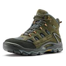 ROCKROOSTER Newland Men's Waterproof Hiking Boot, Non-Slip Outdoor Mountaineering Boots, Ankle, Anti-Fatigue, Comfortable, Lightweight