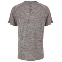 Facitisu Men's Henley Shirts Slim Fit Short Sleeve Performance Buttons Placket Casual Summer T Shirts