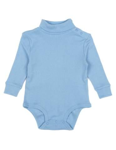 Leveret Long Sleeve Baby Boys Girls Bodysuit Turtleneck 100/% Cotton Size 6