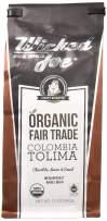 Wicked Joe Organic Coffee Colombia, Whole Bean, 12 Ounce