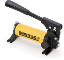 Enerpac P-18 Single-Speed Hydraulic Hand Pump with 2,850 PSI Pressure Rating