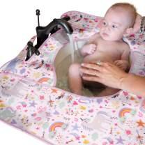 SPLASHPAD Baby - Bathroom Sink Bath Mat (Bathroom Pink Unicorn)