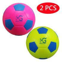 Macro Giant 7.5 Inch (Diameter) Safe Soft Foam Soccer Ball, Set of 2, Playground Ball, Kid Sports Toys, Kickball, School Playground