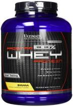 Ultimate Nutrition Prostar Whey Protein Powder Blend of Whey Concentrate Isolate and Peptides – Low Carb, Keto Friendly, 25 Grams of Protein - 80 Servings, Banana, 5 Pounds