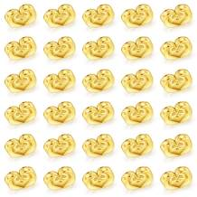Catmade 14k Gold Plated Earring Backs for Studs Secure, 30Pcs/15Pairs Screw on Earring Backs/Earring Lifters/Earring Supplies, Hypoallergenic Flat Earring Backs for Droopy Ears