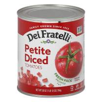Dei Fratelli Petite Diced Tomatoes - All Natural - 5th Generation Recipe (28 oz. cans; 12 pack)