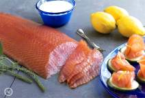 5.0 Lb. New York's Delicacy, Most Awarded, Pre-Sliced, Fully Trimmed, Skin Removed, Smoked Salmon Nova Fillet (2 Fillets)