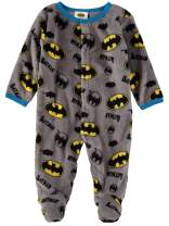 DC Comics Batman AOP Infant Baby Boys Fleece Footies Onsies