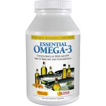Andrew Lessman Essential Omega-3 Mint 600 Softgels - High Potency Omega-3 Oils. High DHA, No Fishy Aftertaste, No Stomach Upset, No Contaminants, No Mercury. Small Easy to Swallow Softgels