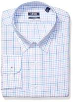IZOD Men's BIG FIT Dress Shirt Stretch Check (Big and Tall)