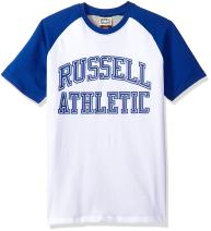 Russell Athletic Heritage Men's Pro Block Iconic Arch Raglan T-Shirt