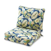 Greendale Home Fashions AZ7820-MARLOW Magnolia Outdoor 2-Piece Deep Seat Cushion Set