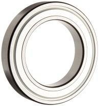 SKF 6001 2ZJEM Deep Groove Ball Bearing, Double Shielded, Steel Cage, C3 Clearance, 12mm Bore , 28mm OD, 8mm Width, 531lbf Static Load Capacity, 1140lbf Dynamic Load Capacity
