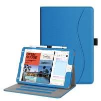 Fintie Case for iPad Mini 5th Gen 2019 / iPad Mini 4 - [Corner Protection] Multi-Angle Viewing Smart Folio Cover w/Pocket, Pencil Holder, Auto Wake/Sleep for New iPad Mini 5 / iPad Mini 4, Royal Blue